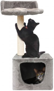 Cat-Scratching-Post-with-Condo on sale