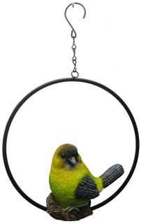 Bird-on-Ring-Hanging-Ornament on sale