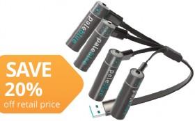 Pale-Blue-USB-Rechargeable-Batteries on sale