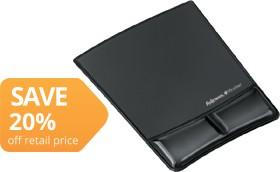 Fellowes-Mouse-Pad-Gel-Wrist-Rest-Black on sale