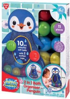 PlayGo-2-in-1-Bath-Organiser-Penguin on sale