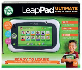 LeapFrog-LeapPad-Ultimate-Get-Ready-for-School-Tablet-in-Green on sale