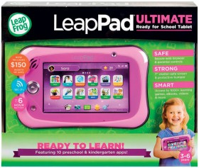 LeapFrog-LeapPad-Ultimate-Get-Ready-for-School-Tablet-in-Pink on sale
